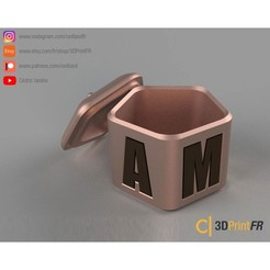 BASE-1200x1200-03.jpg Download free STL file Jewelry box for Valentine's Day! • Design to 3D print, cedland