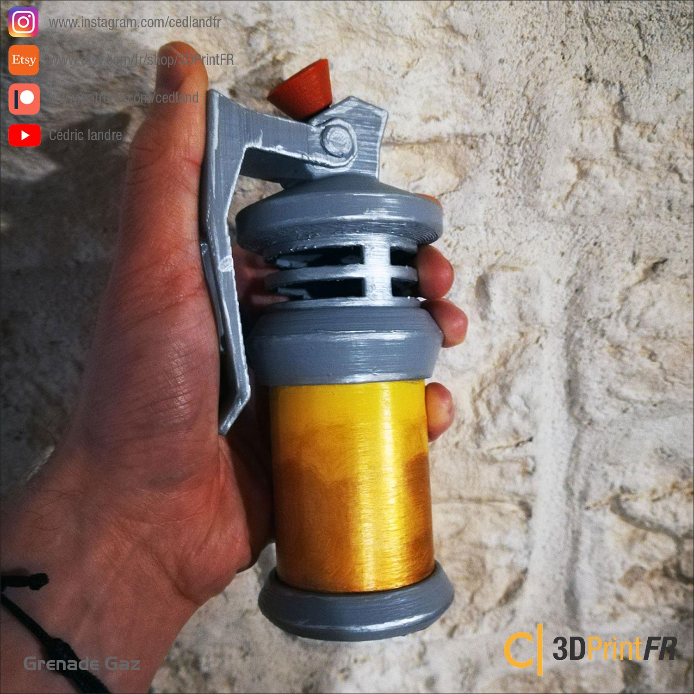 Fortnite-Gaz-03.jpg Télécharger fichier STL gratuit FanArt d'une Grenade Gaz • Design à imprimer en 3D, cedland