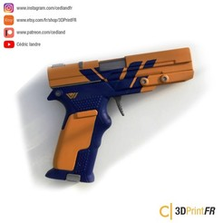 STL files Destiny 2 Spoiler Alert Legendary Replica 1:1 prop, cedland