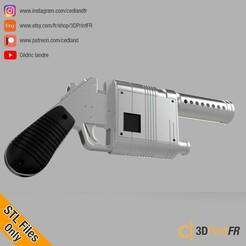 Archivos 3D Rey Blaster NN-14 de Starwars FanArt Props Replica, cedland