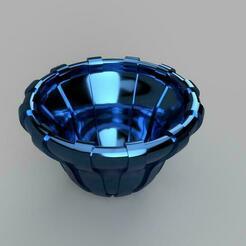 Vide_poche_01_v3.jpg Télécharger fichier STL gratuit Vase / Vide poches / Corbeille • Plan pour impression 3D, cedland
