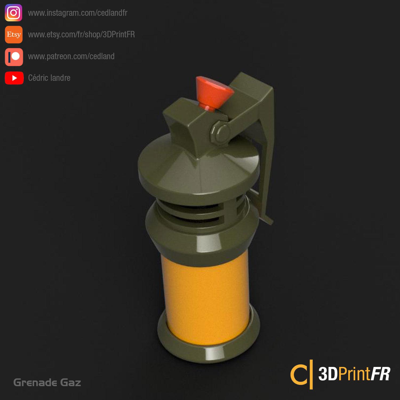 Fortnite-Gaz-01.jpg Télécharger fichier STL gratuit FanArt d'une Grenade Gaz • Design à imprimer en 3D, cedland
