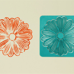 Download free STL file Flower Stencil, G3tPainted