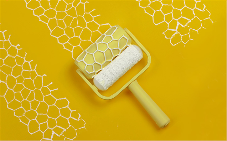 download-19.png Download free STL file Voronoi Paint Roller • Model to 3D print, G3tPainted