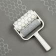 Télécharger fichier imprimante 3D gratuit Rouleau de peinture en nid d'abeille, G3tPainted