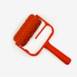 download-16.png Download free STL file Trefoil Paint Roller • 3D printer model, G3tPainted