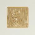 Descargar STL gratis Stencil de grano de madera, G3tPainted