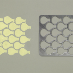 Download free STL file Fish Scales Stencil, G3tPainted