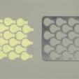 Télécharger objet 3D gratuit Pochoir à poissons, G3tPainted