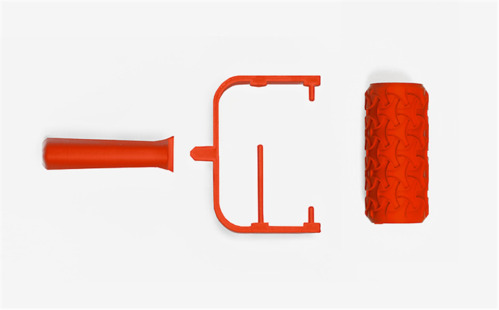 download-15.png Download free STL file Trefoil Paint Roller • 3D printer model, G3tPainted