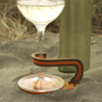 Download free STL file Wine Glass Stake & Votive Holder • Template to 3D print, TeamOutdoor