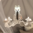 Download free STL file Glamping Chandelier • Template to 3D print, TeamOutdoor