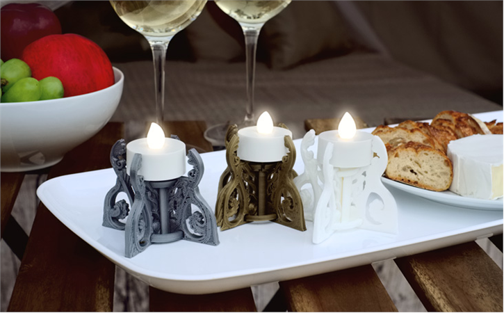 download-12.png Download free STL file Glamping Tealight Holder • 3D printable model, TeamOutdoor