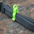 Download free STL file Rope Clip/Line Tensioner • 3D printing template, TeamOutdoor