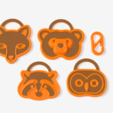 Download free STL file Critter Tags • Model to 3D print, TeamOutdoor