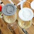 Download free STL file Glamping Wineglass Cover • 3D printer template, TeamOutdoor