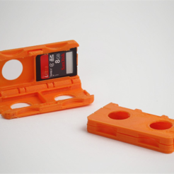 Free 3D printer designs SD Card Holder, HarryDalster
