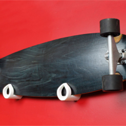 Download free STL files Skateboard Wall Mount, HarryDalster
