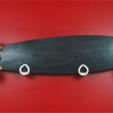 Download free STL files Skateboard Wall Mount, HarryDalster
