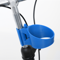 Free 3D print files Coffee Cup Holder, HarryDalster