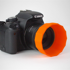 Download free 3D printer model Lens Hood, HarryDalster