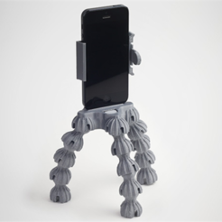 Download free STL files Tripod Kit for iPhone 4/5/5s, HarryDalster