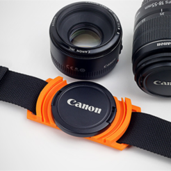 Free 3D printer files Lens Cap Holder, HarryDalster