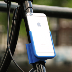 Free 3D printer designs iPhone 6 Holder, HarryDalster