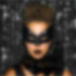 Download free STL file Bat Mask • 3D printing design, Face3D