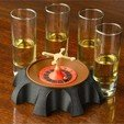 Download free STL file Tabletop Shot Roulette • 3D printing object, Face3D