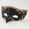 Download free STL file Bird Mask • 3D printable template, Face3D