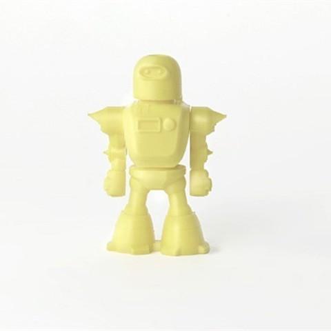 3_GHJW6RQ52K.jpg Download free STL file Rocketpack Robot • 3D printer model, D5Toys