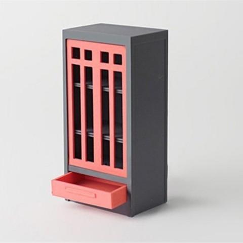 Télécharger plan imprimante 3D gatuit Bibliothèque artisanale et artisanale, D5Toys