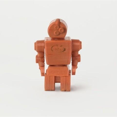 Télécharger objet 3D gratuit Robot de roues, D5Toys