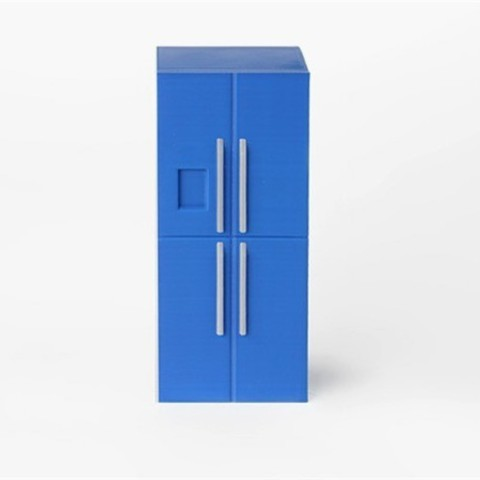 Télécharger fichier impression 3D gratuit Frigo, D5Toys