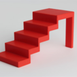 Download free STL file Modern Stairs • 3D print object, D5Toys