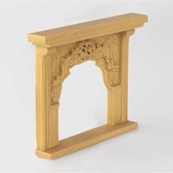 2_FI3WI43U1W.png Download free STL file Victorian Fireplace • 3D printing model, D5Toys