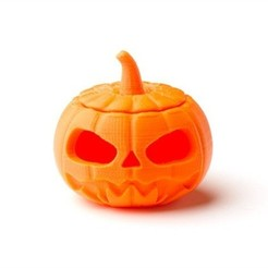 Download free 3D model Jack-o-Lantern, D5Toys