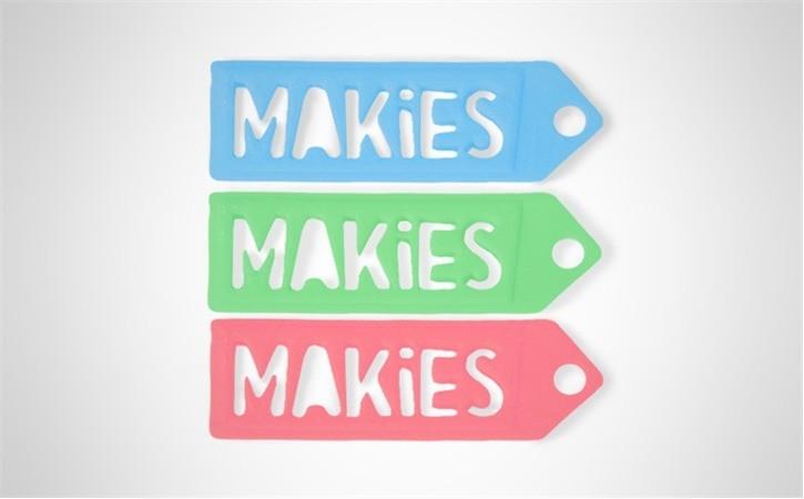 12.28.2014_I599Q8KYX8.jpg Download free STL file Makies Gift Tag • Model to 3D print, D5Toys