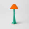 download-6.png Download free STL file Arts and Crafts Floor Lamp • Model to 3D print, D5Toys