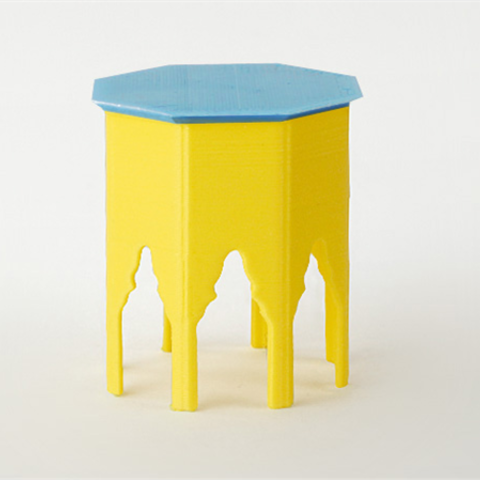 Télécharger STL gratuit Table mauresque victorienne, D5Toys
