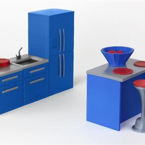 silver_UL453QHY5F.jpg Download free STL file Sink • 3D print design, D5Toys