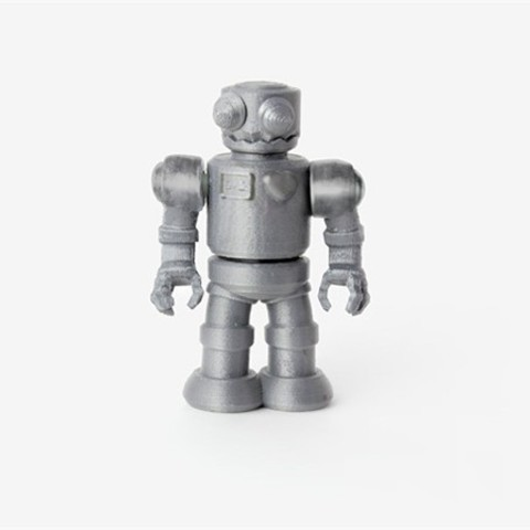 Download free 3D printing files Ticker Robot, D5Toys