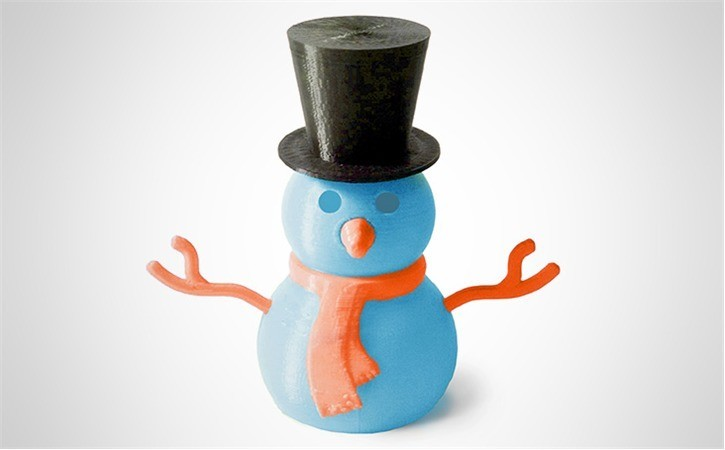 orange_KQS8WO6AKX.jpg Download free STL file Build-A-Snowman • 3D print template, D5Toys