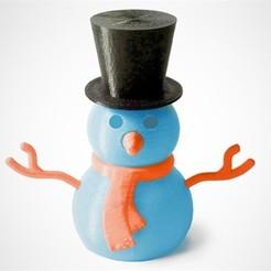 Descargar archivo 3D gratis Construir un muñeco de nieve, D5Toys