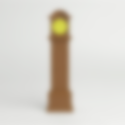 Télécharger fichier imprimante 3D gratuit Horloge grand-père victorienne, D5Toys
