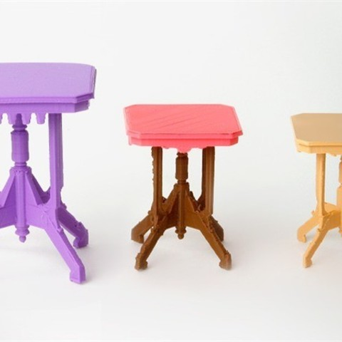 Download free STL file Side Table • Design to 3D print, D5Toys