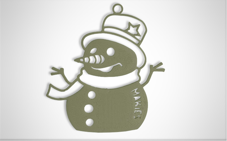 download.png Download free STL file Snowman Decoration • 3D printable model, D5Toys