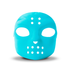 Free 3D printer designs Hockey Mask, D5Toys