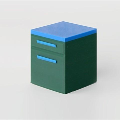 Télécharger STL gratuit Cabinet, D5Toys